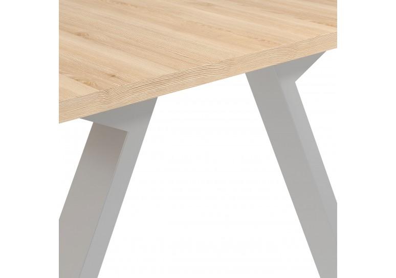 Mesa multipuesto Uve fondo 140 estructura estructura aluminio