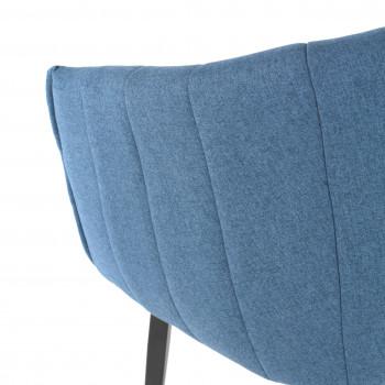 Silla Orlando giratoria azul