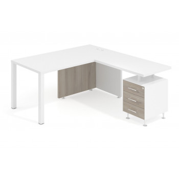 Mesa con ala meet y buc...