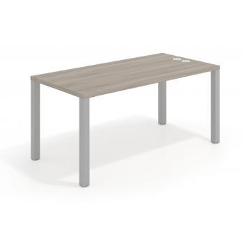 Quadra - Mesa de escritorio Quadra estructura aluminio - Imagen 1