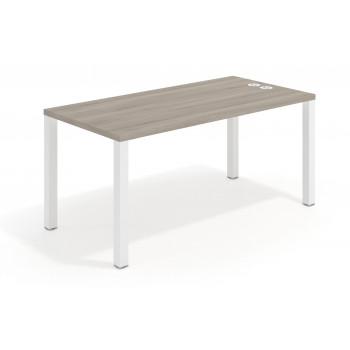 Quadra - Mesa de escritorio Quadra estructura blanca - Imagen 1