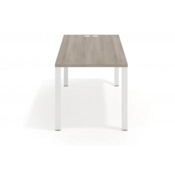 Quadra - Mesa de escritorio Quadra estructura blanca - Imagen 2