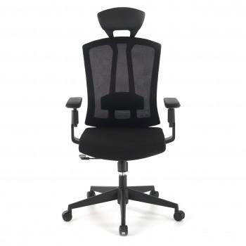 Baron - Silla de oficina Baron, reposacabezas, brazos 3D, red negro - Imagen 2