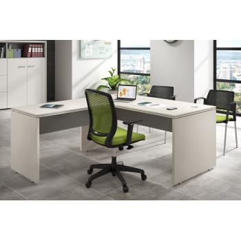 Work Uno - Mesa de oficina en L work uno - Imagen 2