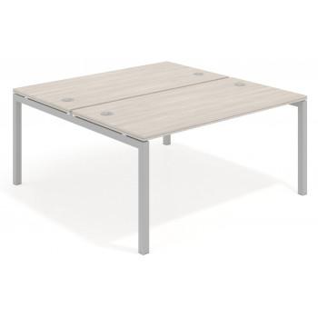 Work Quatro - Mesa bench serie Work Quattro fondo 163 estructura aluminio - Imagen 1