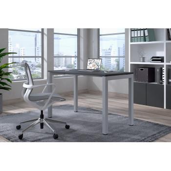 Kubika - Mesa de escritorio Kubika fondo 60 estructura aluminio - Imagen 2