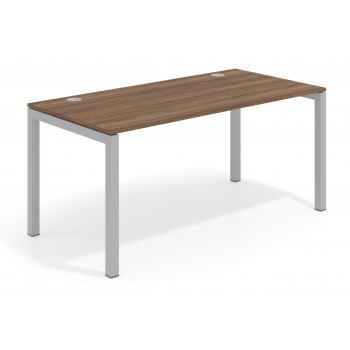 Kubika - Mesa de escritorio Kubika fondo 80 estructura aluminio - Imagen 1