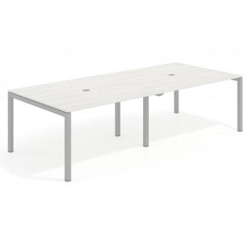 Kubika - Mesa de reunion Kubika 126 doble estructura aluminio - Imagen 1