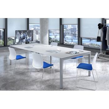 Kubika - Mesa de reunion Kubika 126 doble estructura aluminio - Imagen 2