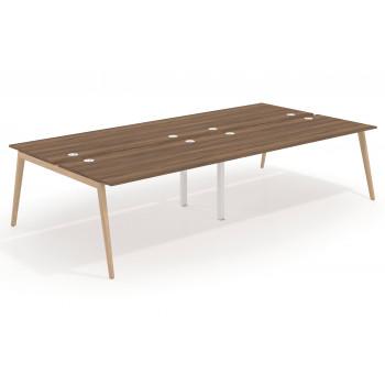 Forest - Mesa multipuesto bench doble serie Forest 166 - Imagen 1