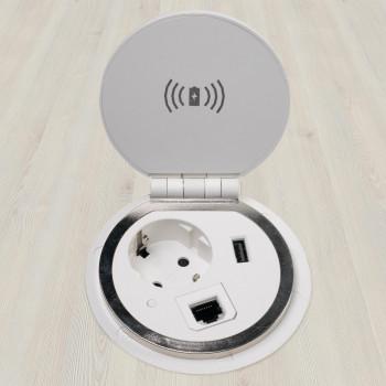 Powerhub - Powerhub ø80 wireless+ench+usb+dat rj45 - Imagen 1