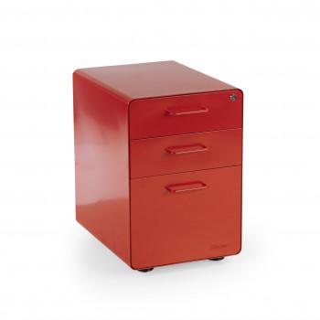 Apple - Cajonera de oficina apple rojo - Imagen 1