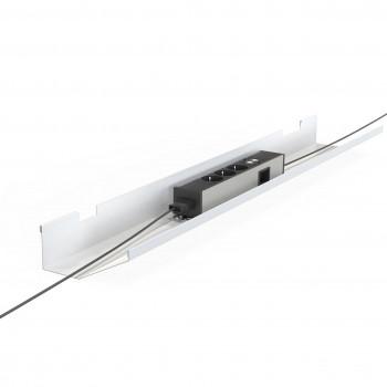 Bandeja work - Bandeja para cables mesa bench work - Imagen 1