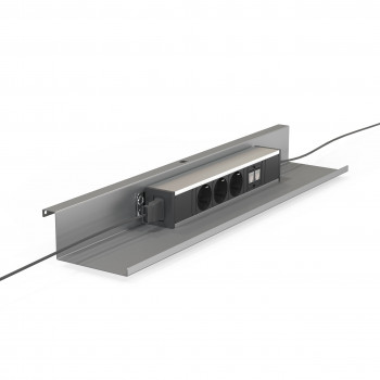 Bandeja work - Bandeja para cables mesa individual work - Imagen 1