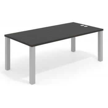Quadra - Mesa de despacho Quadra estructura aluminio - Imagen 1