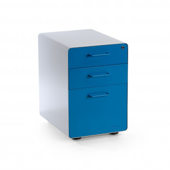 Apple - Cajonera de oficina apple blanco/azul - Imagen 1