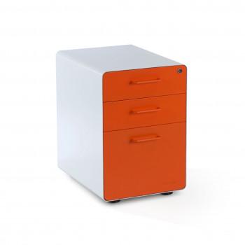 Apple - Cajonera de oficina apple blanco/naranja - Imagen 1