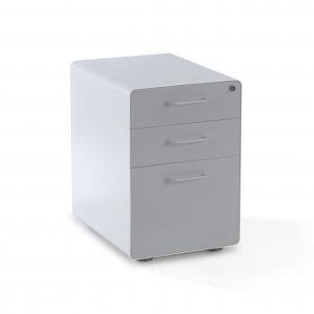 Apple - Cajonera de oficina apple blanco/gris - Imagen 1
