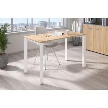 Link - Mesa de escritorio Link fondo 60 estructura blanca - Imagen 2