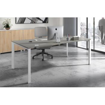 Link - Mesa de despacho Link estructura blanca - Imagen 2