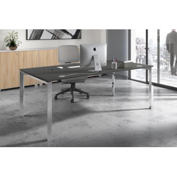 Link - Mesa de despacho Link estructura cromo - Imagen 2