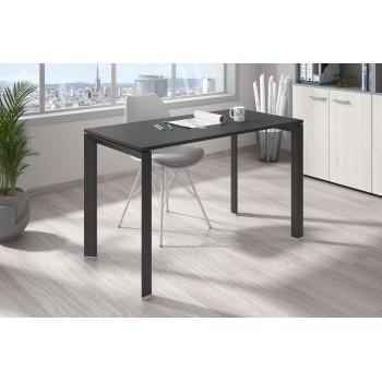 Link - Mesa de escritorio Link fondo 60 estructura negro - Imagen 2