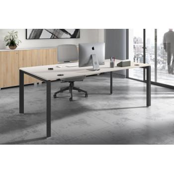 Link - Mesa de despacho Link estructura negro - Imagen 2