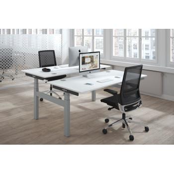 Erghos - Erghos smart pro mesa multipuesto elevable estructura aluminio - Imagen 2