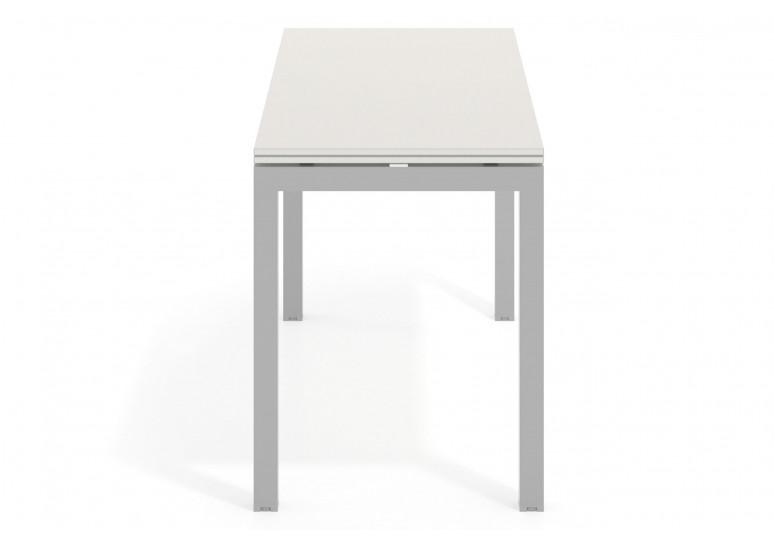 Mesa de oficina Work Quattro fondo 60 estructura aluminio