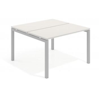 Work Quatro - Mesa bench serie Work Quattro fondo 123 estructura aluminio - Imagen 1