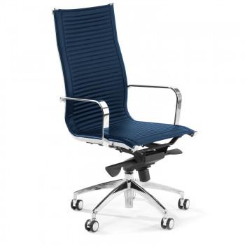 Croma - Silla de oficina Croma respaldo alto azul - Imagen 1
