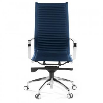 Croma - Silla de oficina Croma respaldo alto azul - Imagen 2