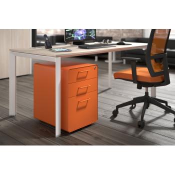 Apple - Cajonera de oficina apple naranja - Imagen 2