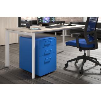 Apple - Cajonera de oficina apple azul - Imagen 2