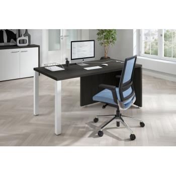 Meet - Mesa de escritorio meet  estructura blanca - Imagen 2