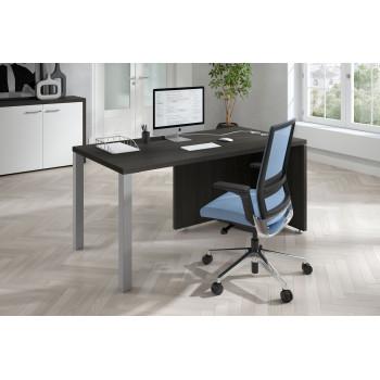 Meet - Mesa de escritorio meet  estructura aluminio - Imagen 2