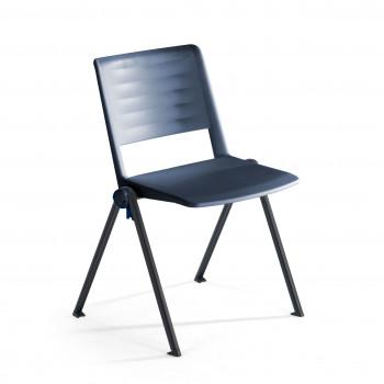Replay - Silla confidente Replay, 4 patas azul - Imagen 1