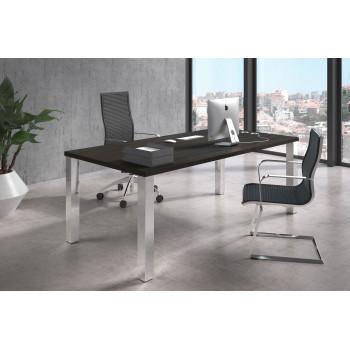 Quadra - Mesa de despacho Quadra estructura cromo - Imagen 2