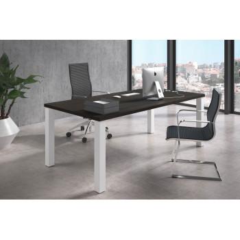 Quadra - Mesa de despacho Quadra estructura blanca - Imagen 2