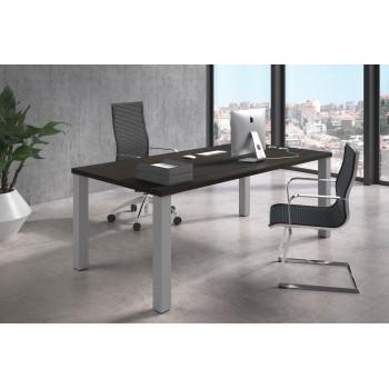 Quadra - Mesa de despacho Quadra estructura aluminio - Imagen 2