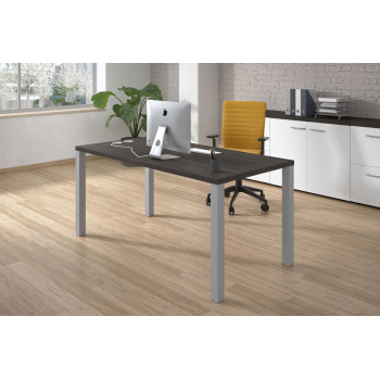 Quadra - Mesa de escritorio Quadra estructura aluminio - Imagen 2