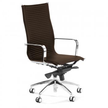 Croma - Silla de oficina Croma respaldo alto marrón - Imagen 1