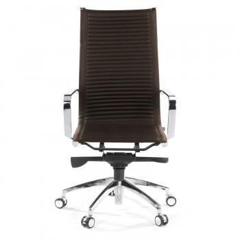Croma - Silla de oficina Croma respaldo alto marrón - Imagen 2
