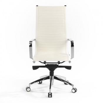 Croma - Silla de oficina Croma respaldo alto blanco - Imagen 2
