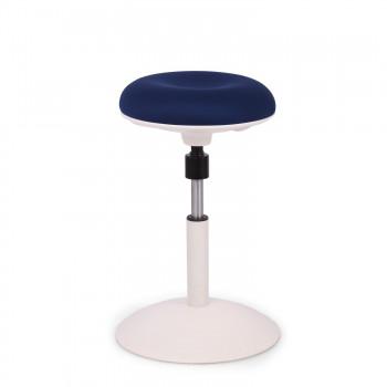 Spiro - Taburete de oficina Spiro blanco azul - Imagen 1