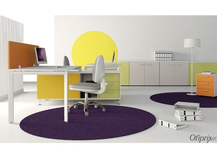 Color y arquitectura de oficinas modernas