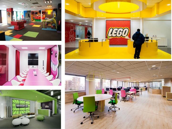 Como son las oficinas de Lego
