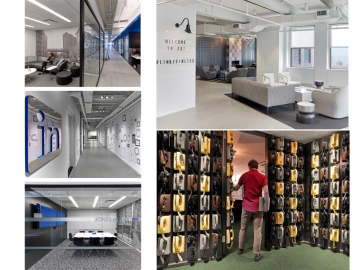 Oficinas de Linkedin en Nueva York.