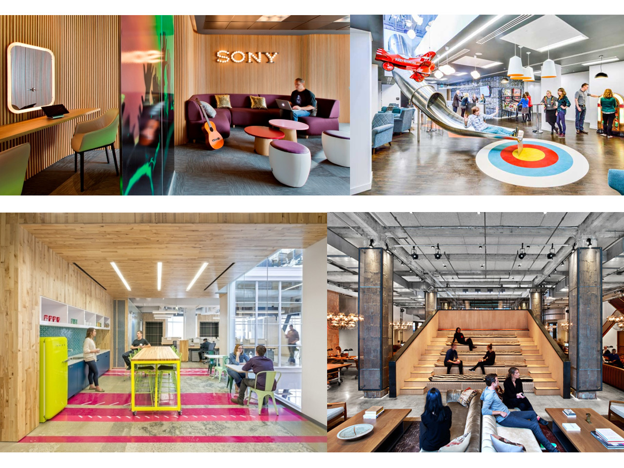 5 tendencias de arquitectura de oficinas modernas for Interiores de oficinas modernas