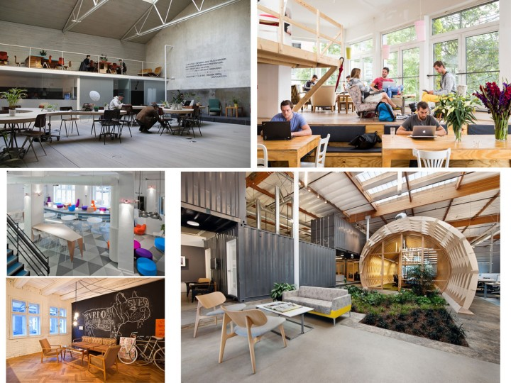 Coworking moderno